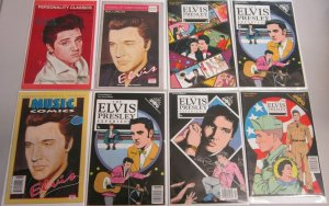 Elvis comic lot 9 comics + 1 TPB