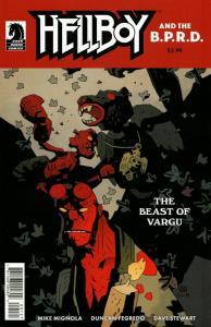 Hellboy And BPRD Beast Of Vargu #1 Cvr B (Dark Horse, 2019) NM