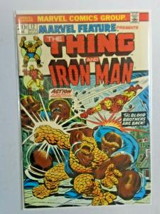 Marvel Feature #12 1st Series Thing Iron Man 6.0 FN (1973)