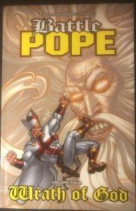Battle Pope by Kirkman Vol. 4 Wrath of God (9.4 NM)