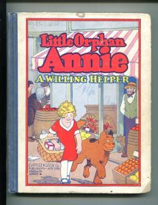 LITTLE ORPHAN ANNIE #7-1932-HAROLD GRAY-A WILLING HELPER-vg minus