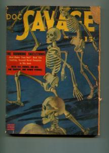 DOC SAVAGE JUNE 1943-STREET AND SMITH-BILL BARNES-G/VG