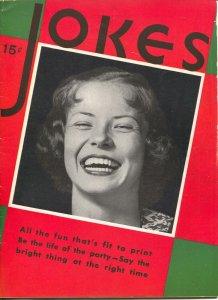 Jokes #1 1930's-Dell-Bette Davis-Bill Holman-Chon Day-Jackie Cooper-FN