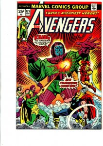 The Avengers #129 - Kang - 1974 - Fine/Very Fine