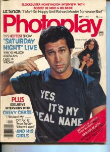 Photoplay-Chevy Chase-Laraine Newman-Jane Curtin-Sept-1974