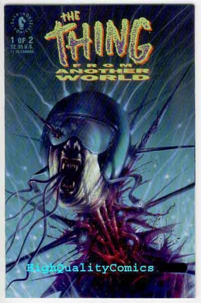 THING FROM ANOTHER WORLD #1, VF/NM, John Higgins, 1991, more Horror in store