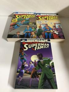 Showcase Presents Superman's Family 1 2 3 TPB Lot Nm Near Mint DC Comics sc