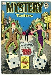 Mystery Tales #17 1964- Super Golden Age Horror Reprint- Snake Eyes VG