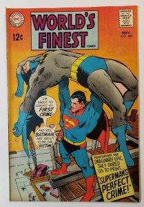 Worlds Finest #180 DC Comics Silver Age 1968 Batman Superman  VF+