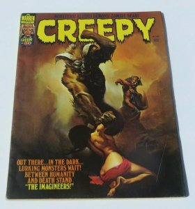 Creepy #80 VG/FN 1976 Sci-Fi Horror Magazine Lurking Monsters Demons Slave Woman