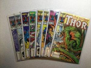 Thor 341 342 343 345 346 347 348 349 350 Lot Run Set Near Mint- 9.2 Marvel