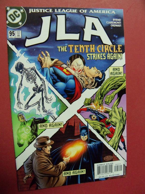 JUSTICE LEAGUE OF AMERICA  #95 VF/NM OR BETTER DC COMICS
