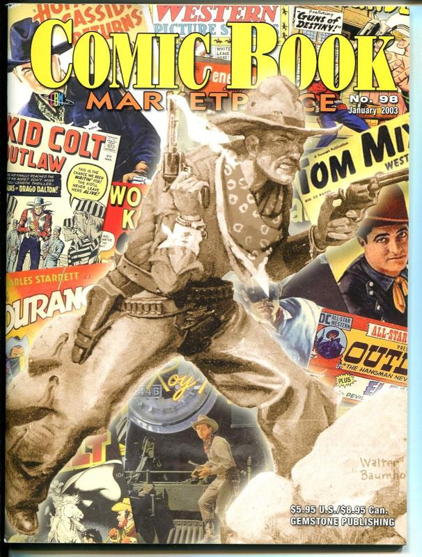 Comic Book Marketplace #98 2003-Dick Ayers-Cowhero Age of Comics-Severin-VF