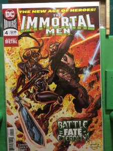The Immortal Men #4