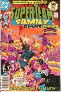 SUPER TEAM FAMILY 10 VF-NM May 1977 COMICS BOOK