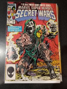 SECRET WARS #10