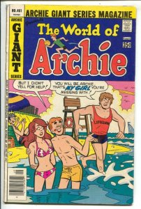 Archie Giant Series #461 1977-World of Archie-Betty and Veronica-swimsuit cov...