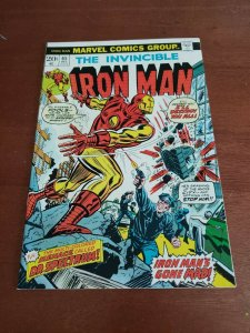 Invincible Iron Man #65 (Marvel, 1973) Origin of Dr. Spectrum