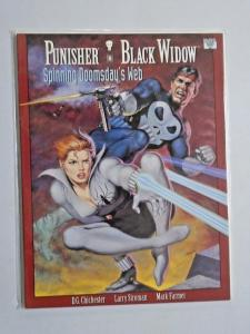 Punisher Black Widow Spinning Doomsday's Web #1 - see pics - NM - 1992