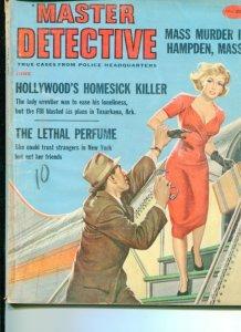 MASTER DETECTIVE-6/59-MASS MURDER-HOMESICK KILLER-LETHAL PERFUME G/VG