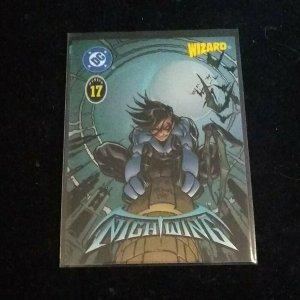 1996 Wizard Magazine Chromium Series #17 Nightwing