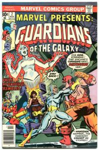 MARVEL PRESENTS #7, VF+, Guardians of the Galaxy, 1975, more Bronze in store