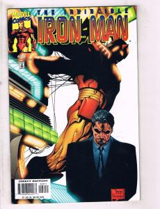 Lot of 4 The Invincible Iron Man Marvel Comic Books #28 29 30 31 JB2