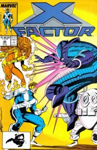 X-Factor (1986 series) #40, VF (Stock photo)