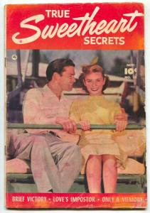 True Sweetheart Secrets #10 1952- Romance comic VG