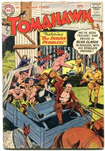 Tomahawk Comics #47 1957-DC Western Silver Age VG+