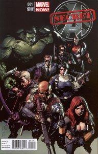 SECRET AVENGERS (2013 Series)  (MARVEL) #1 YU Near Mint Comics Book