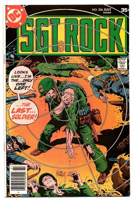 Sgt. Rock #306 (Jul 1977, DC) - Very Fine/Very Fine+
