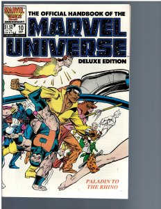The Official Handbook of the Marvel Universe #10 (1986)