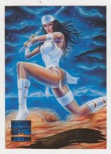 1995 Marvel Masterpieces #124 Elektra