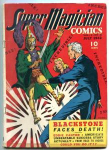 Super Magician #6 1942- Eddie Cantor- BLACKSTONE VG/F