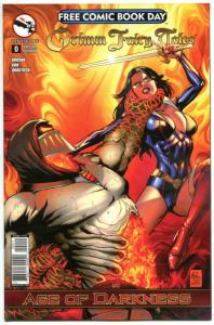 GRIMM FAIRY TALES #0, NM, Age of Darkness, FCBD, 2014, more Promo/items in store