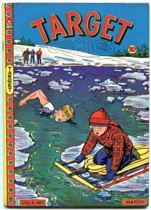 Target Comics Vol 8 #1 1947- Gary Stark- Don Rico Nina Albright VF-