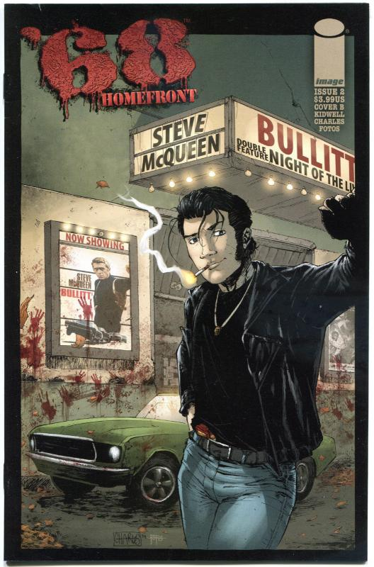 '68 HOMEFRONT #2 B, VF,1st Print, Zombie, Walking Dead, 2014, more in store