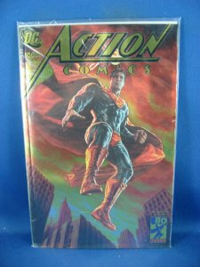 ACTION COMICS 1000 NM GOLD FOIL CONVENTION VARIANT SEALED 2018