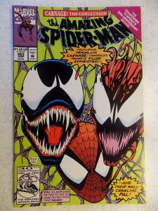 AMAZING SPIDER-MAN # 363 MARVEL 3RD CARNAGE VENOM MOVIE ACTION ADVENTURE