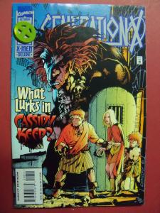 GENERATION X #8 (9.0 to 9.2 or better) With sealed overpower card Marvel comics