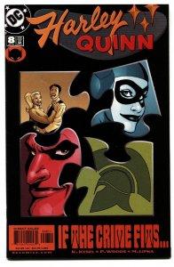 HARLEY QUINN #8 comic book HARLEY QUINN-2001-HIGH GRADE-vf