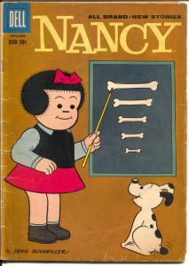 Nancy #160 1958-Dell-Peanuts-Charlie Brown-Snoopy-VG-