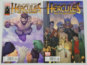 Hercules: Fall of an Avenger #1-2 VF/NM complete series - ariel olivetti - pak