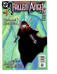 Lot Of 10 Fallen Angel DC Comic Books # 1 2 3 4 5 6 7 8 9 10 David Lopez CR22