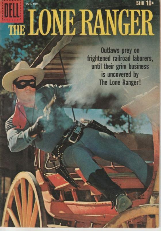 Lone Ranger, The #130 (Oct-59) VF+ High-Grade The Lone Ranger, Tonto, Silver
