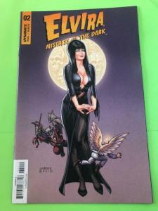 ELVIRA Mistress of the Dark #2 A, VF/NM, Dynamite, 2018, more Linsner in store