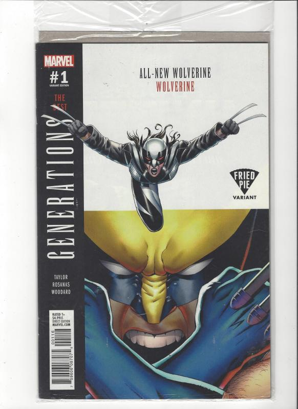 Wolverine Generations #1 Marvel Comics Fried Pie Variant NM