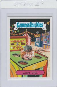 Garbage Pail Kids Carni Val 27a GPK 2016 American As Apple Pie In Your Face