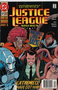 DC Comics! Justice League America! Issue 57!